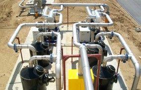 Filtry HDPE – układ oczyszczania biogazu