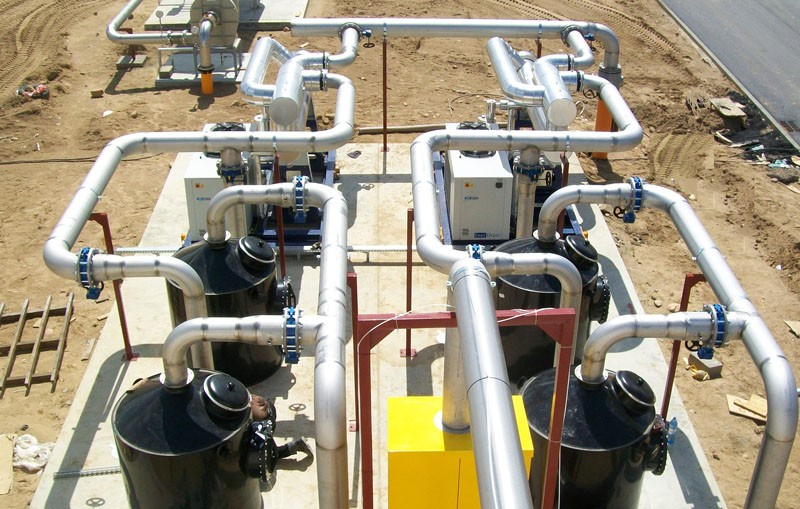 Очистка биогаза